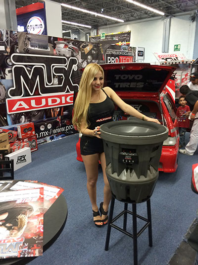 MTX at Audio Car Expo in Guadalajara Mexico - 11