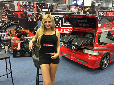 MTX at Audio Car Expo in Guadalajara Mexico - 13