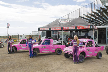 Pink Motor Sports with MTX 2