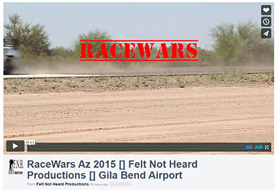 RaceWars Az 2015 Video - Felt Not Heard Productions