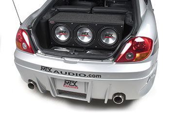 MTX Audio Trunk Full Of Subs