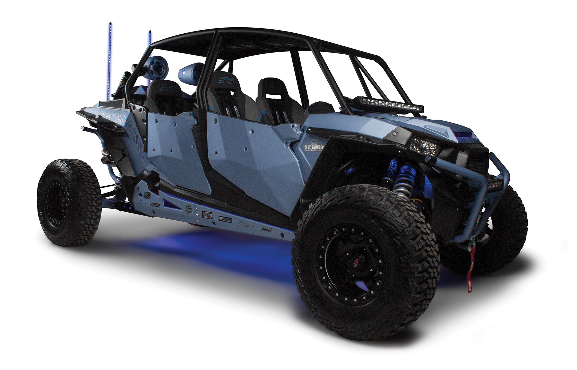 Do I Need A 2nd Battery For My Utv Audio System Mtx Custom Trailer Wiring Diagram Paris Blue Thunder Polaris Rzr