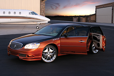 Buick Lucerne Airport