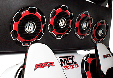 MTX Polaris RZR170 Rear Speakers