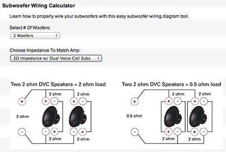 mtx car subwoofer wiring example2 two common car amplifier power mistakes mtx audio serious,Subwoofer Wiring Diagrams To 1 Ohm 2 Subs