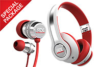 MTX Headphone-Earbuds Combo Special