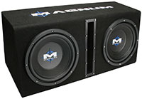 MTX Magnum MB210SP Dual Subwoofer Package