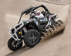 Polaris RZR with MTX Audio
