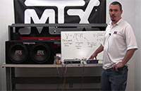 MTX Set Your Car Amplifier Gain Video