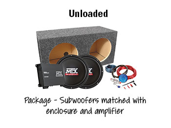 MTX Car Subwoofer System Selector Guide 3