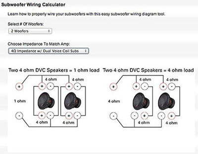 4 Ohm Subwoofer Wiring Diagram from www.mtx.com