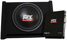 MTX Car Subwoofer TNP112D