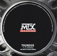 MTX THUNDER681 Speaker Components Back Logo