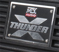 MTX Car XThunder Amplifier Logo