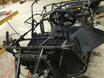 RZR 170 Totally Dismantled