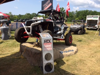 MTX Ground Pounder RZR at Polaris Dealer Event
