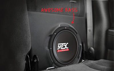MTX ThunderForm Dodge Dakota Quad Cab